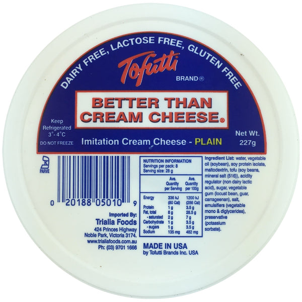 Tofutti Better Than Cream Cheese - Plain