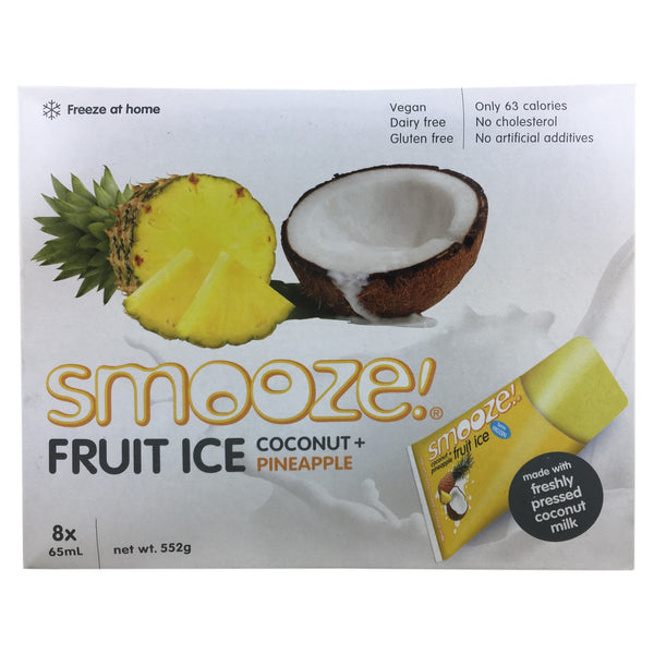 Smooze Fruit Ice Coconut & Pineapple