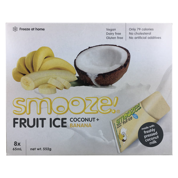 Smooze Fruit Ice Coconut & Banana
