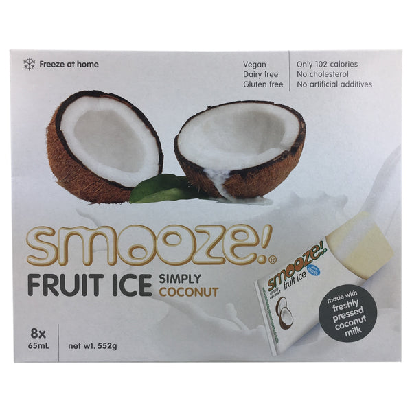 Smooze Fruit Ice Simply Coconut