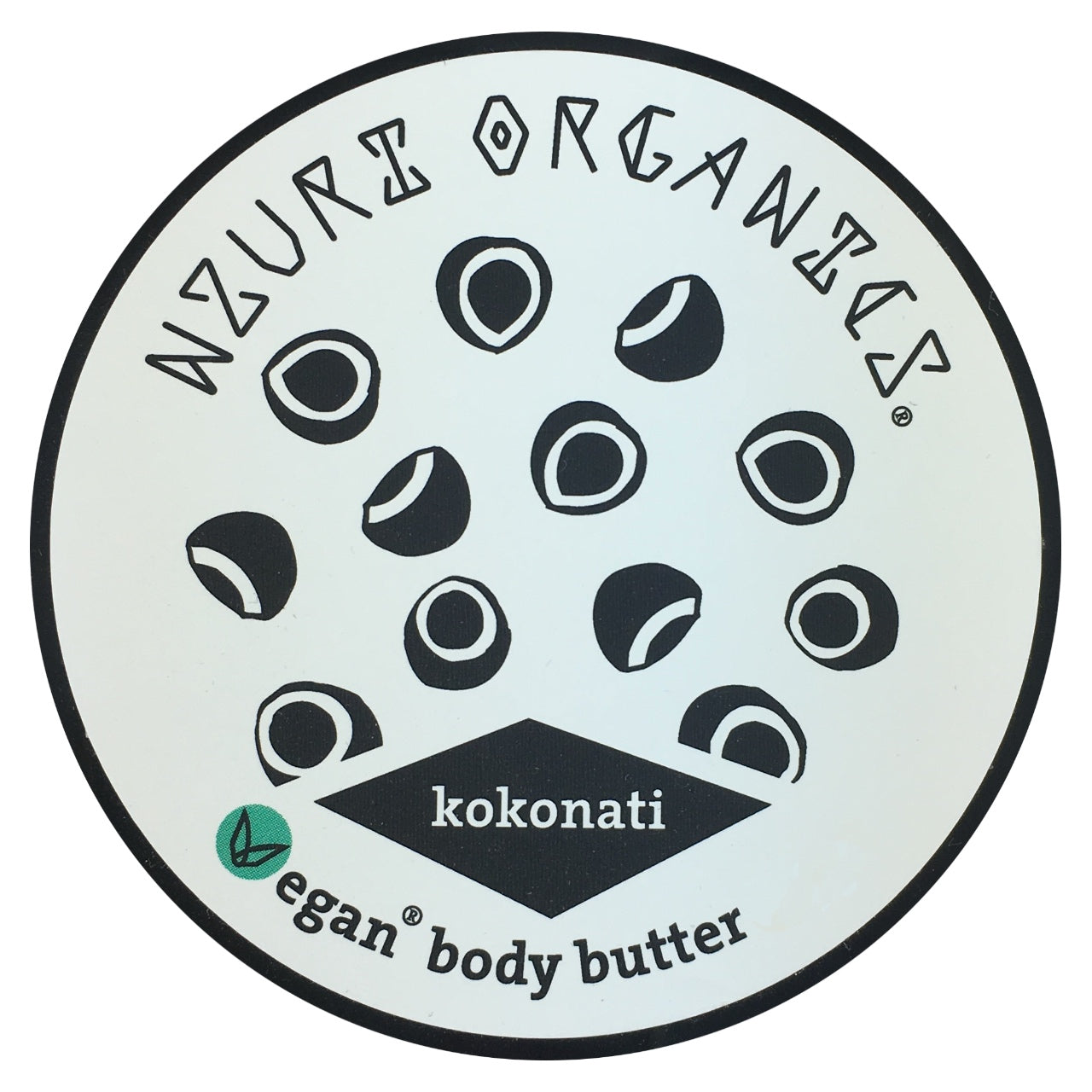 Nzuri Kokonati Body Butter