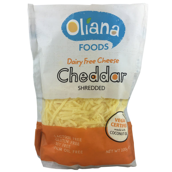 Oliana Cheddar Cheese Shreds