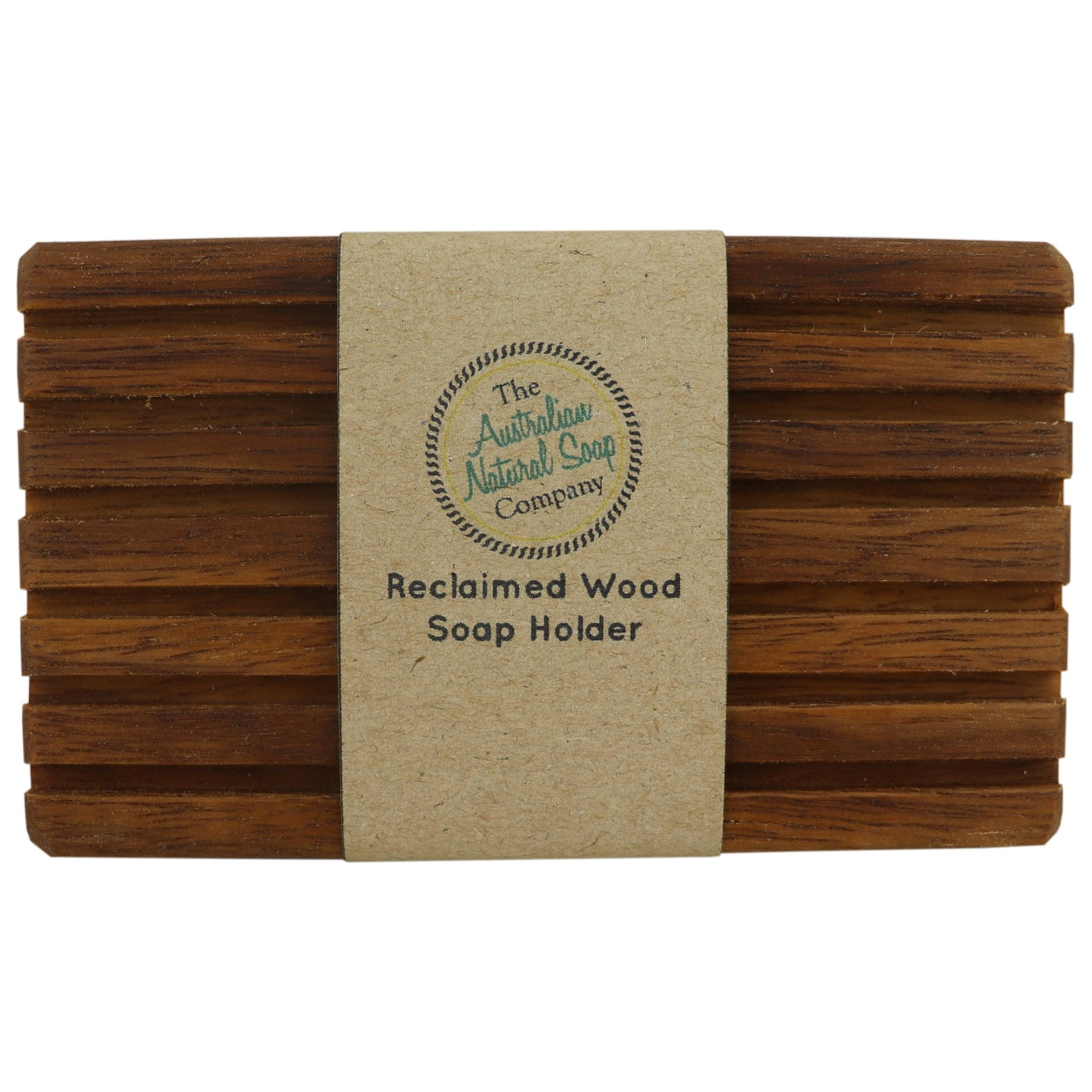 The Australian Natural Soap Company Reclaimed Wood Soap Holder