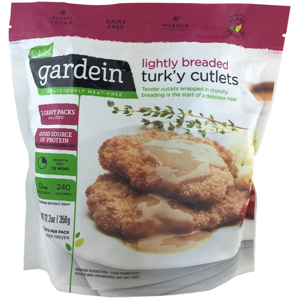 Garden Lightly Breaded Turk'y Cutlets