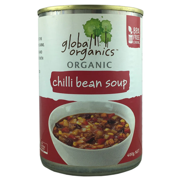 Global Organics Chilli Bean Soup