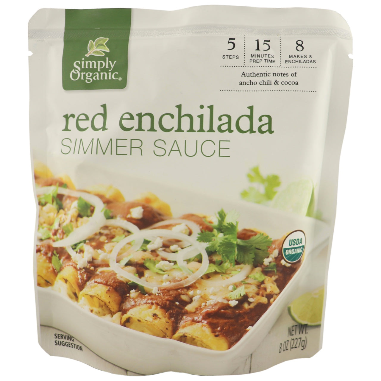 Simply Organic Red Enchilada Simmer Sauce