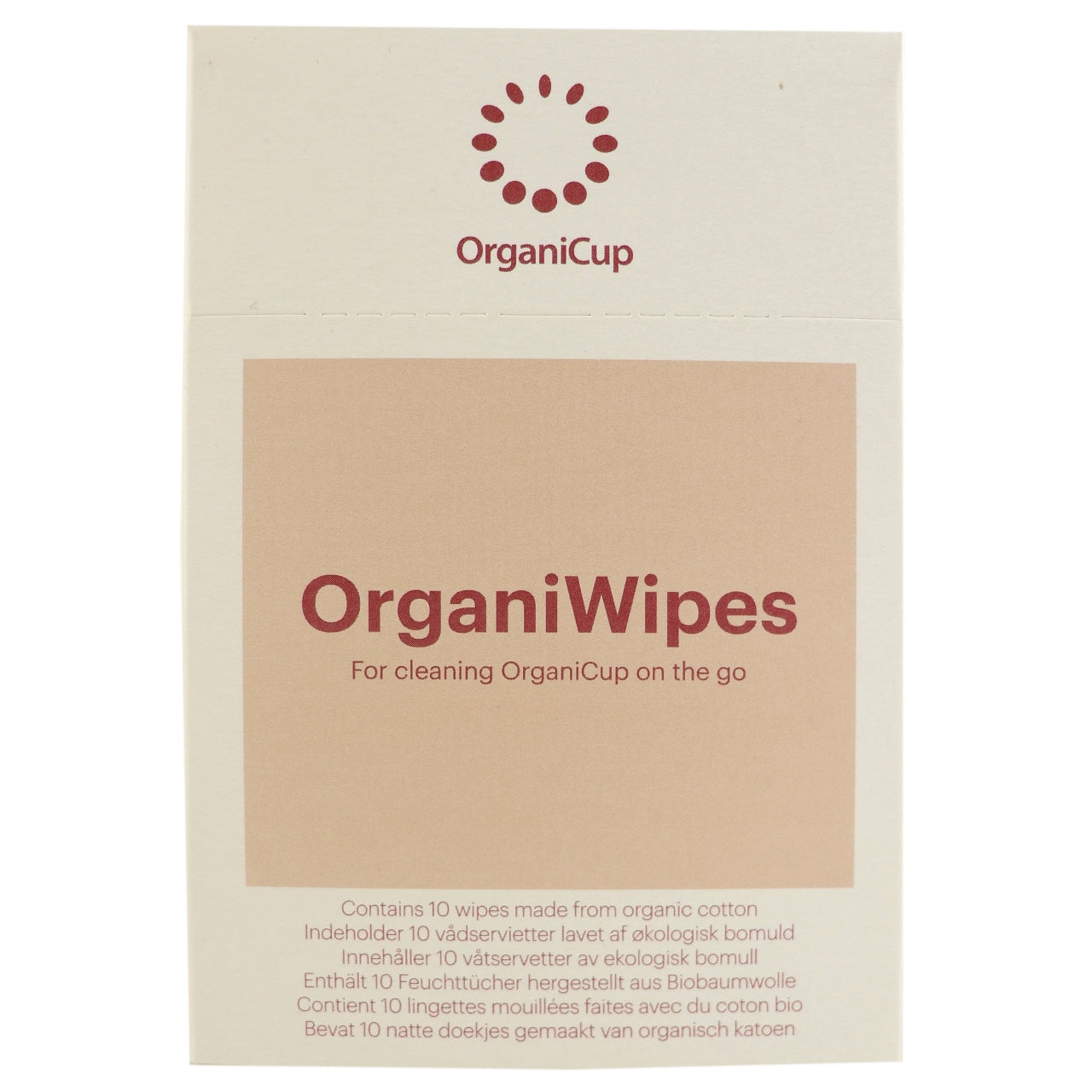 OrganiCup Wipes