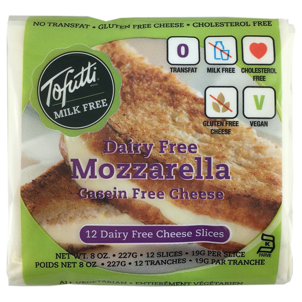 Tofutti Mozzarella Style Cheese Slices