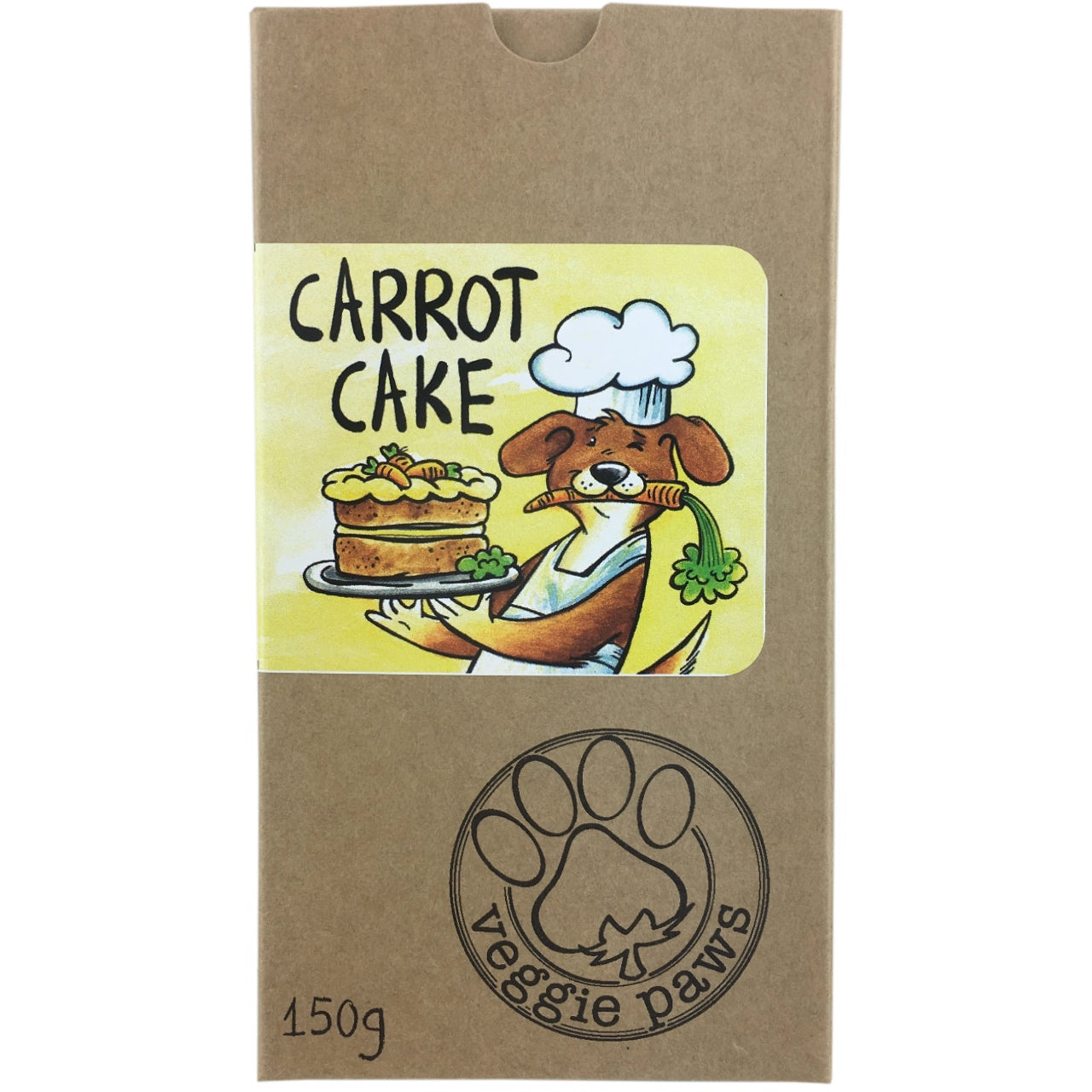 Veggie Paws Treat Pack -Carrot Cake