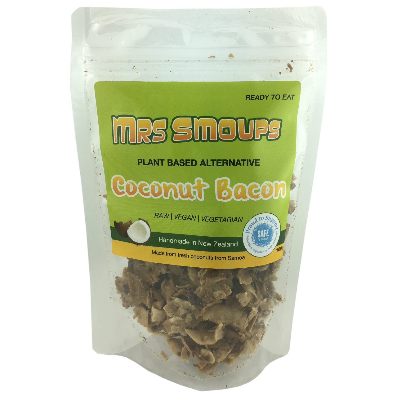 Mrs Smoups Coconut Bacon- Use By 4th November 2018