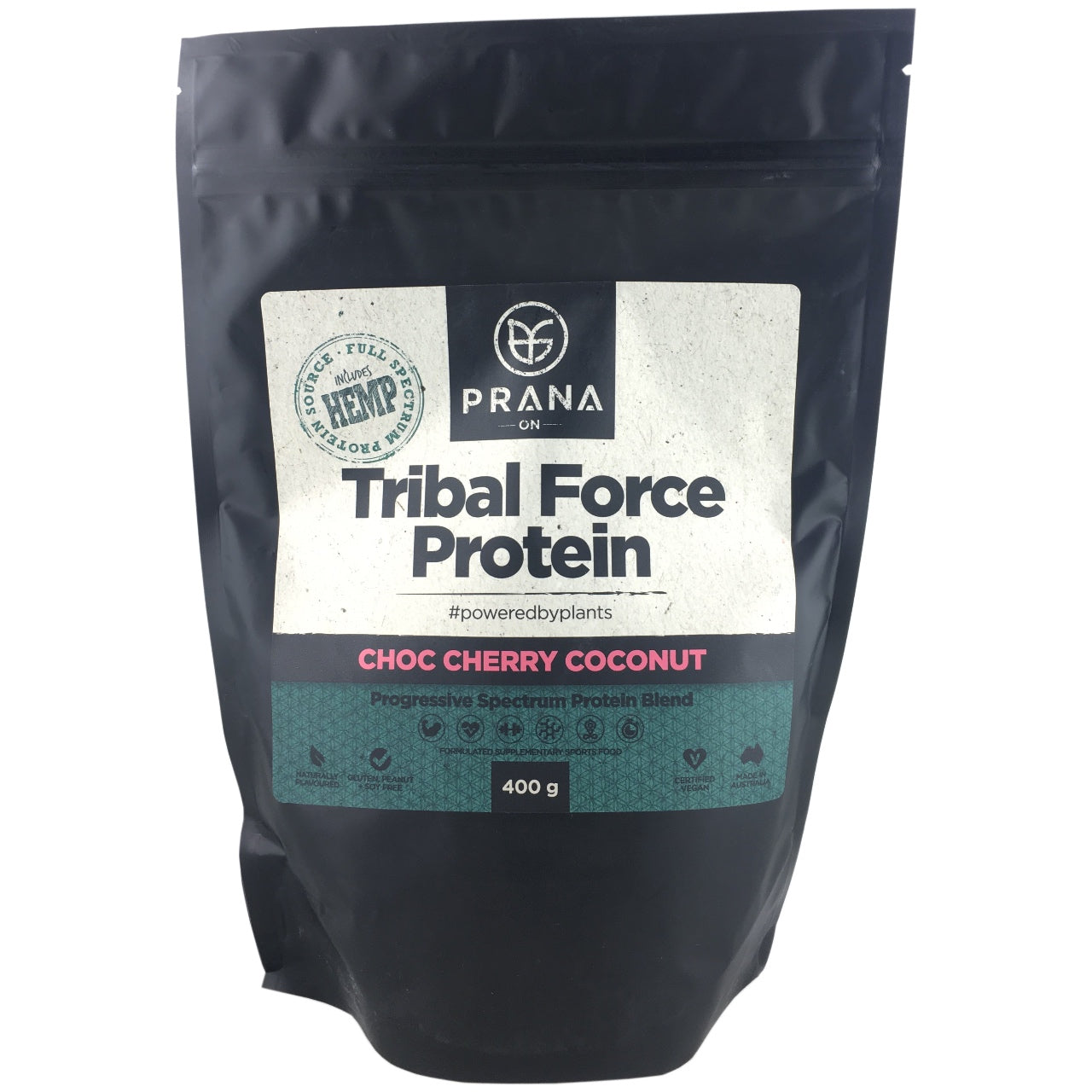 Prana Tribal Force Protein - Choc Cherry Coconut