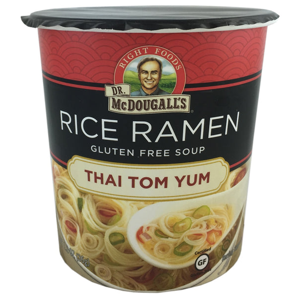 Dr McDougall Vegan Thai Tom Yum Rice Ramen Soup