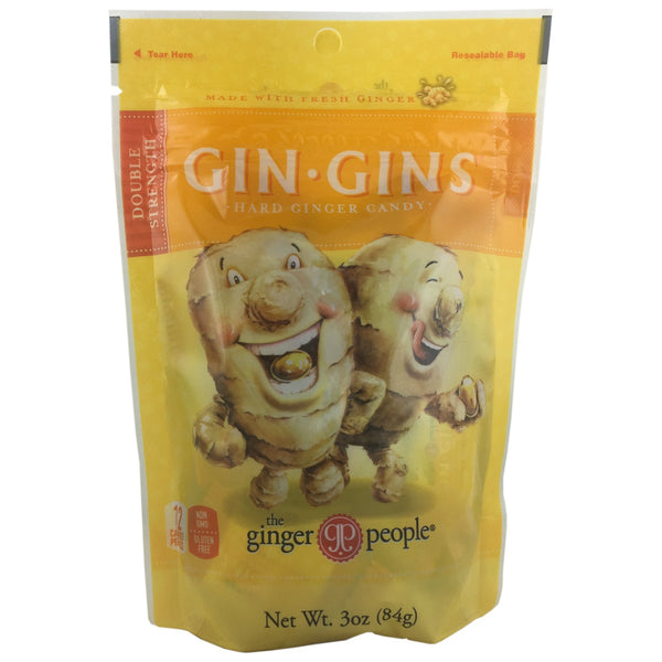 Gin Gins Hard Ginger Candy Bag -Best Before 1st March 2019