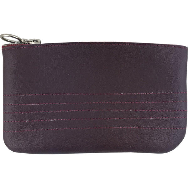 Vegan Wares Coin Purse -Burgundy