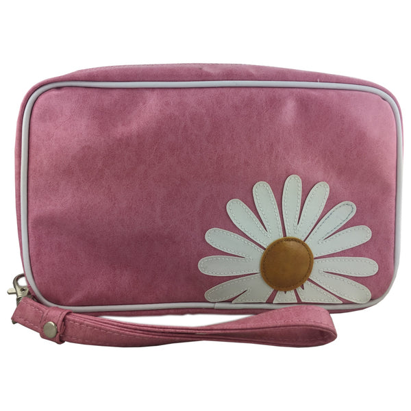 Lavishy Daisy Large Cosmetic Bag