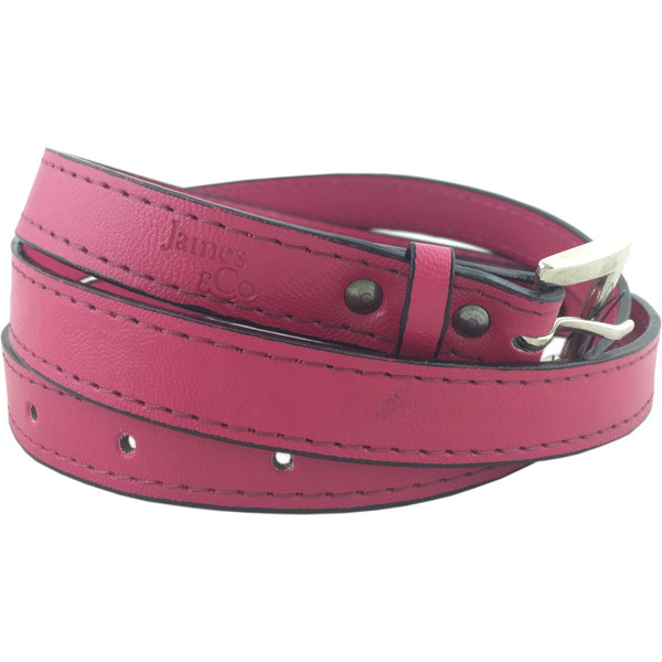 James & Co Belt -Pink