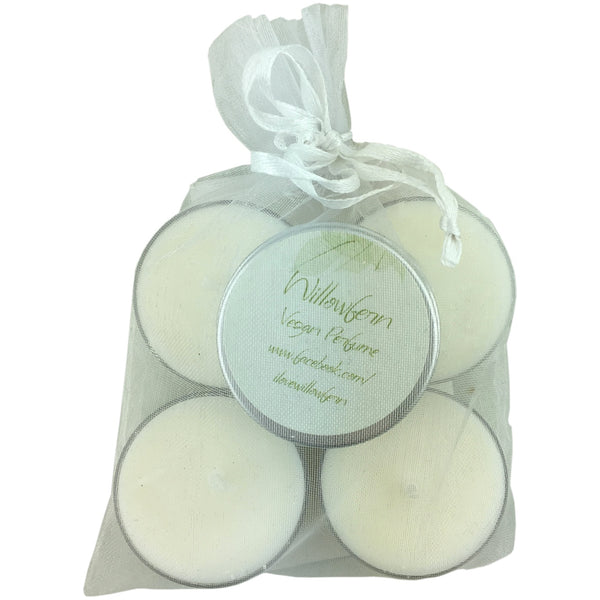 Willowfern Gift Pack -Perfume & Scented Tealight Candle 4 Pack