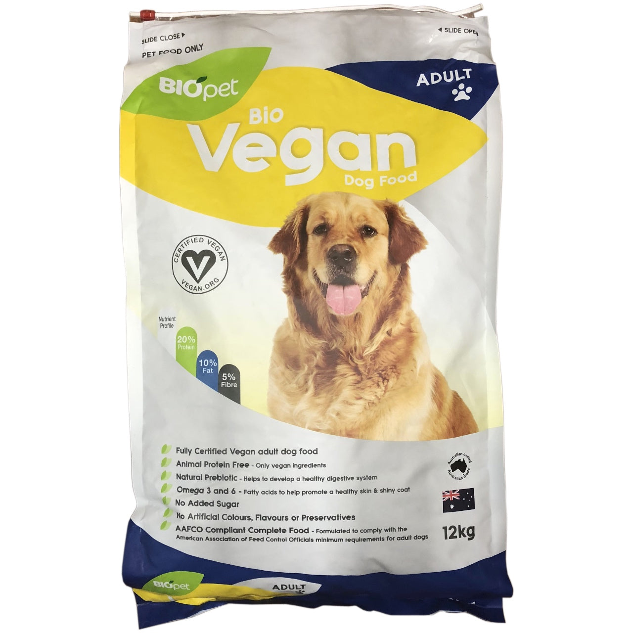 Biopet Vegan Dog Food -12kg