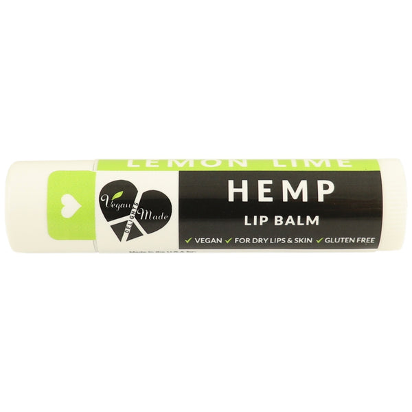 Vegan Made Hemp Lemon Lime Lip Balm