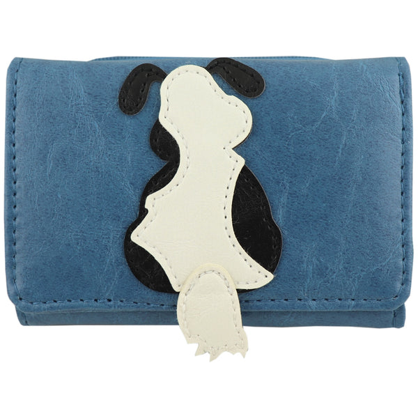 Lavishy Adora Large Wallet -Dog Applique