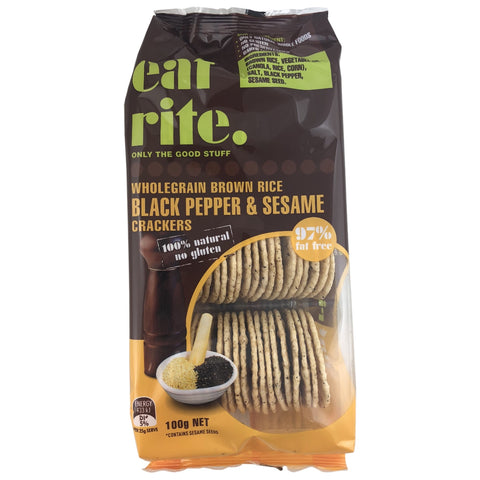 Eatrite Brown Rice Crackers