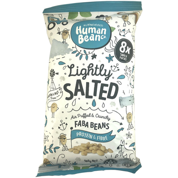 Human Bean Co Faba Beans Lightly Salted