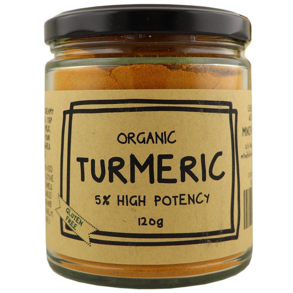 Mindful Foods Organic Turmeric 5% High Potency