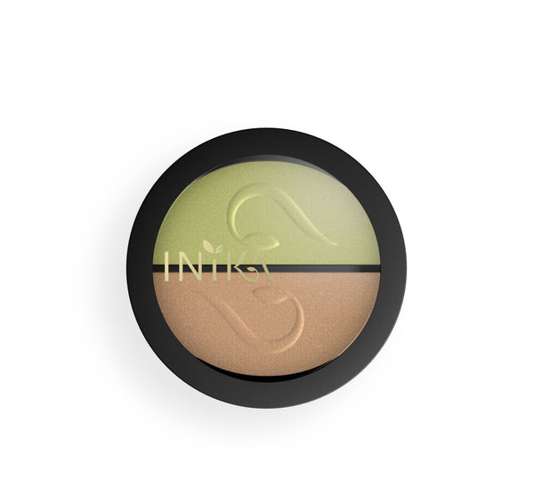 Inika Pressed Eyeshadow Duo -Khaki Dessert