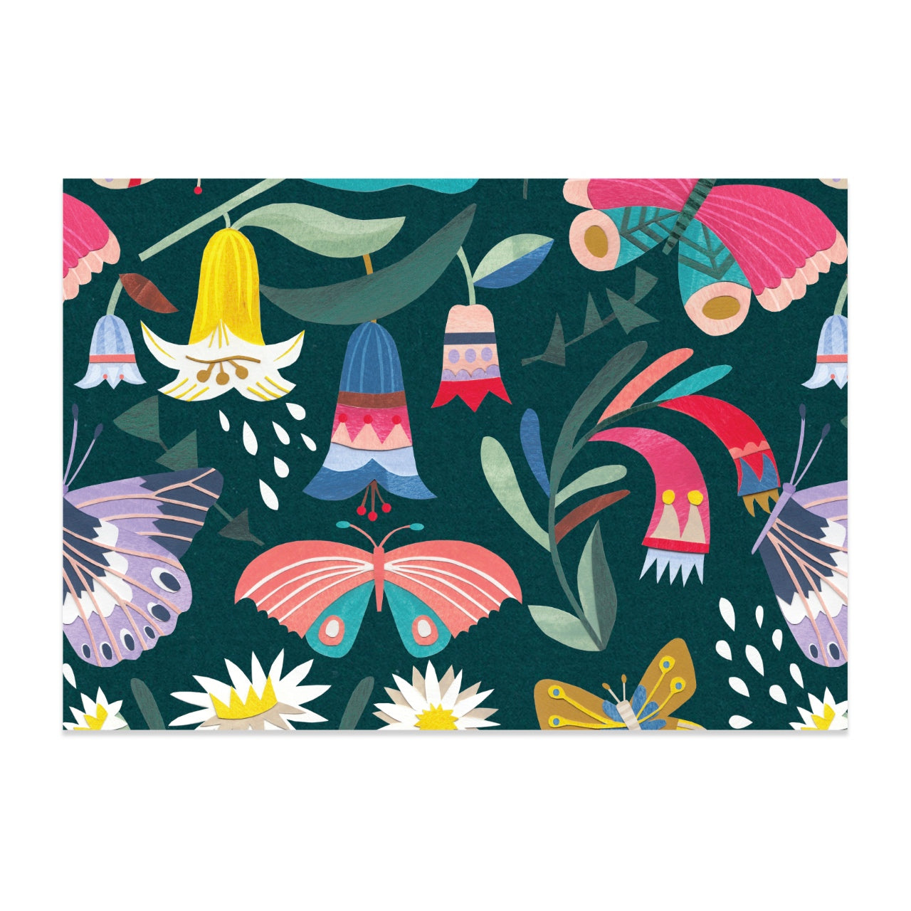 Earth Greetings Wrap -Tropical Butterfly