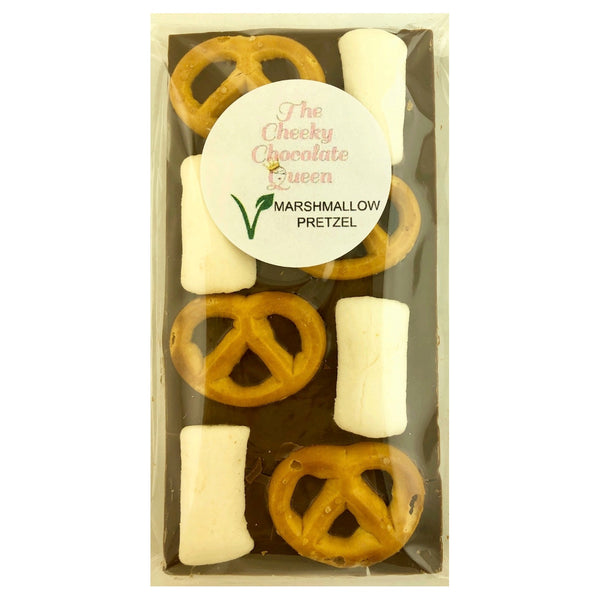 The Cheeky Chocolate Queen Choc Block -Pretzel Marshmallow