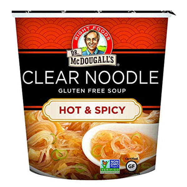 Dr McDougall Clear Noodles -Hot & Spicy