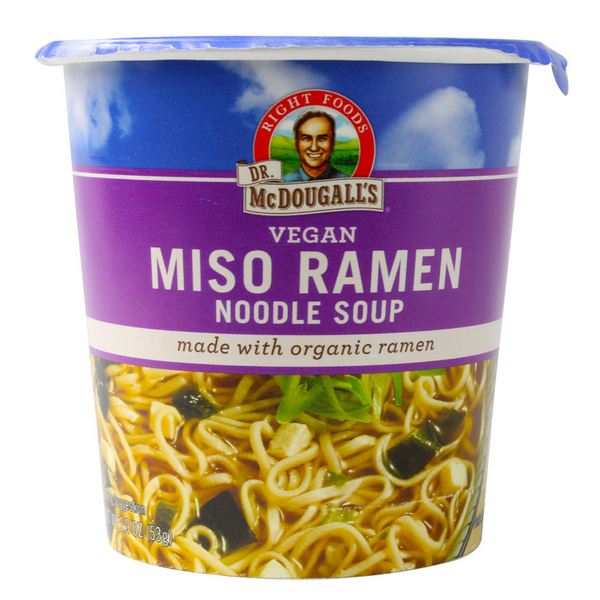 Dr McDougall Miso Ramen Flavour Big Cup