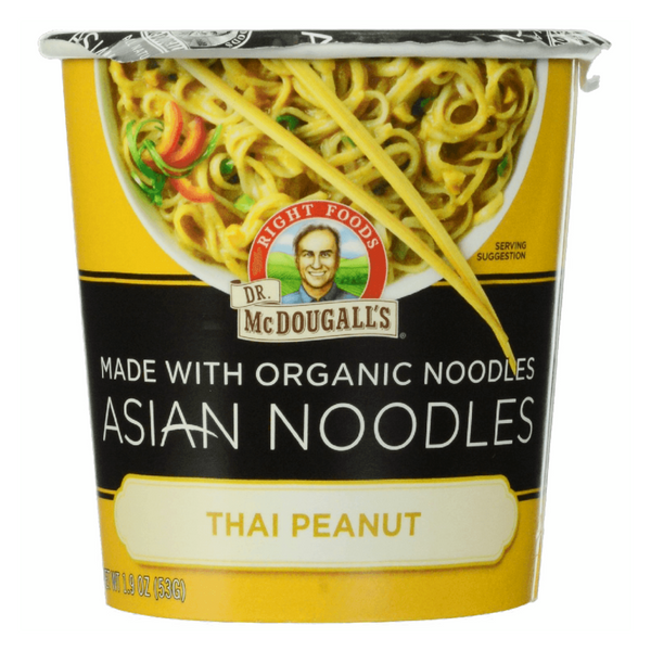 Dr McDougall Asian Noodles -Thai Peanut