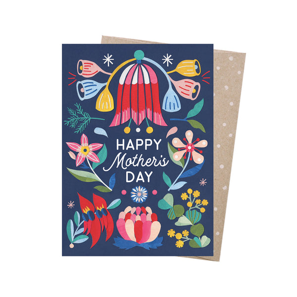 Earth Greetings Card -Mother's Day Blooms