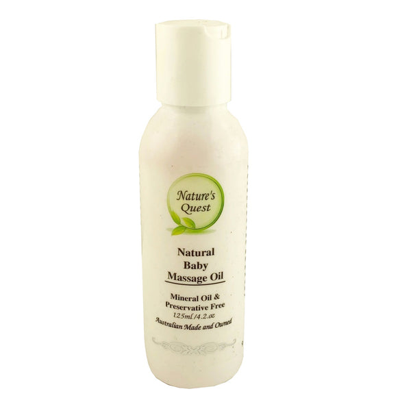 Nature's Quest Baby Massage Oil