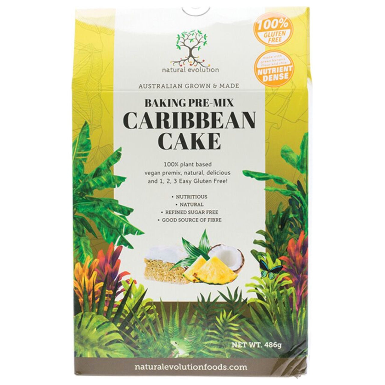 Natural Evolution Caribbean Cake Mix- Best Before November 2018