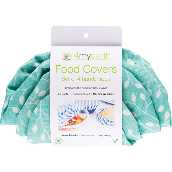 4MyEarth Food Covers -Set of 4 (Leaf Set)