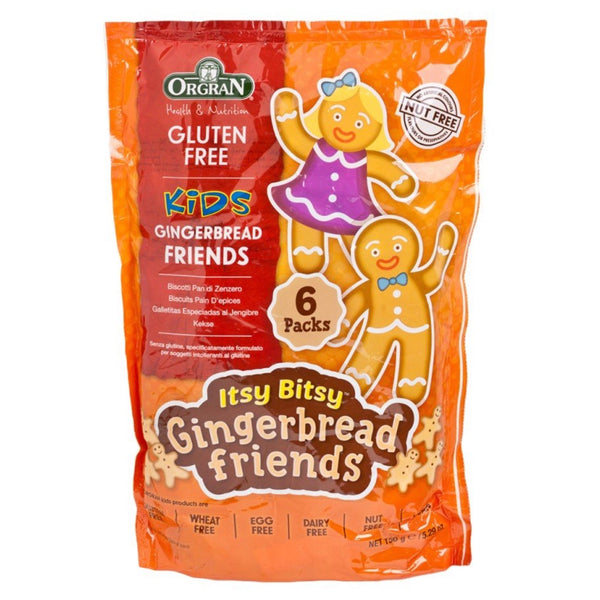Orgran Itsy Bitsy Gingerbread Friends