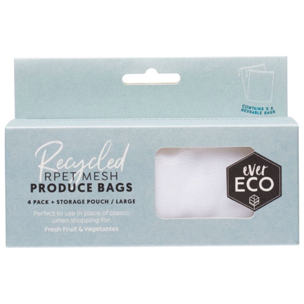 Ever Eco Reusable Produce Bags -4 Pack