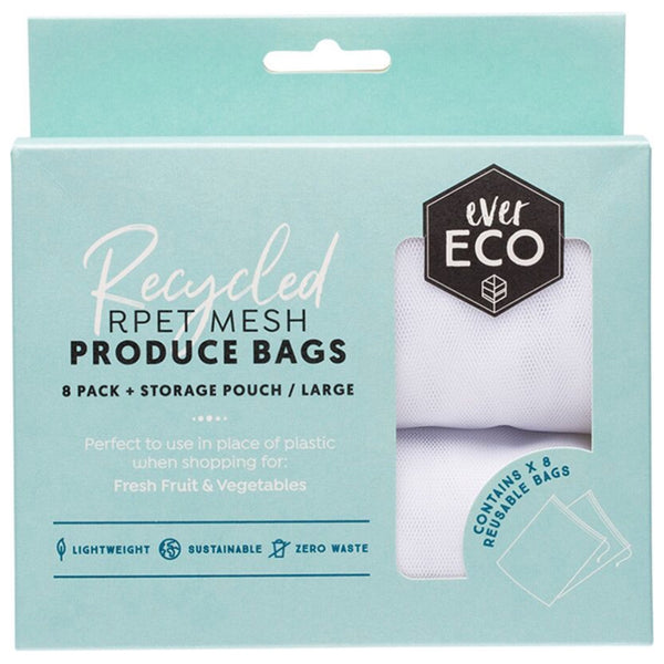 Ever Eco Reusable Produce Bags -8 Pack