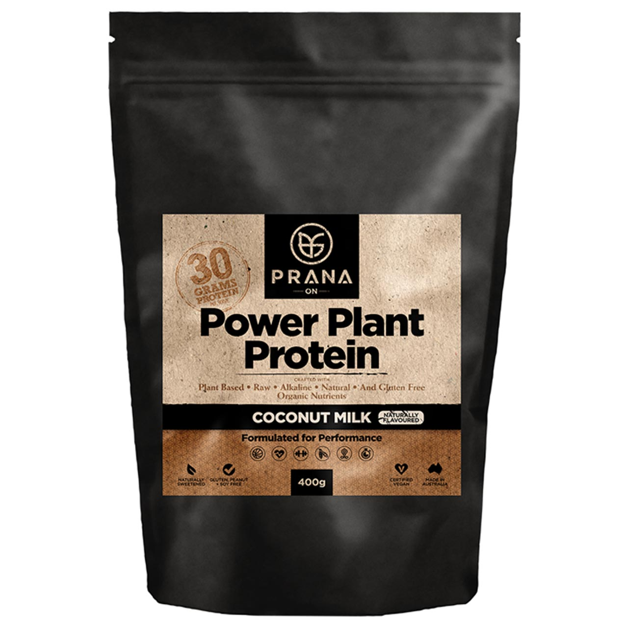 Prana Power Plant Protein -Coconut Milk