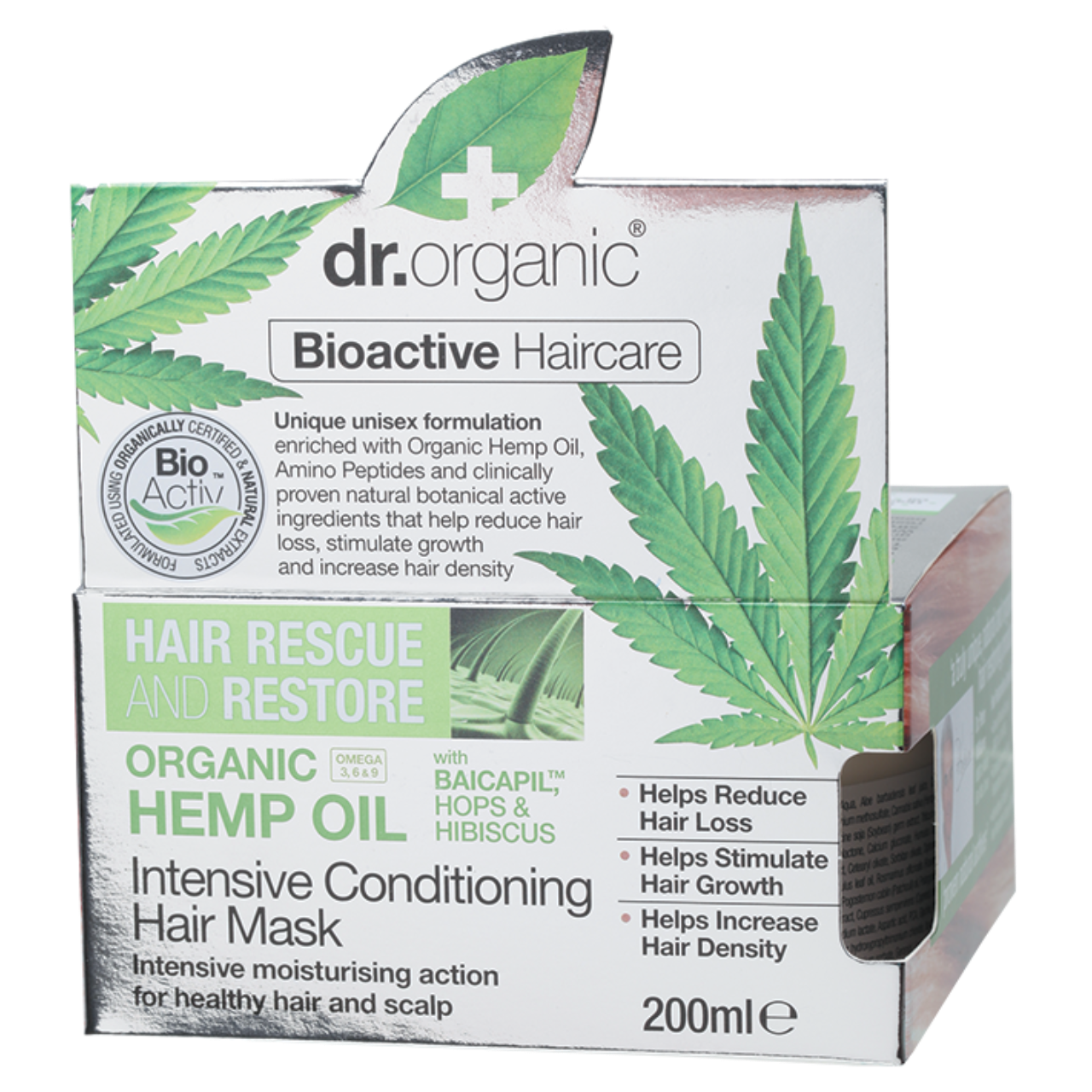 Dr Organic Hemp Oil Intensive Conditioning Hair Mask