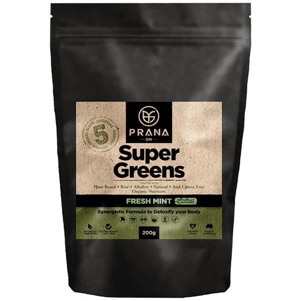 Prana Super Greens - Fresh Mint