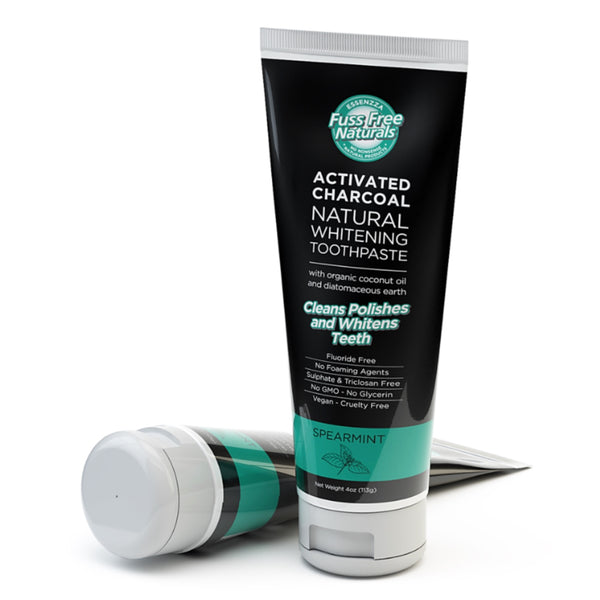 Essenzza Fuss Free Activated Charcoal Toothpaste