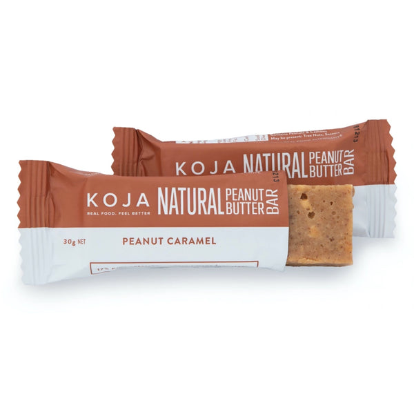 Koja Natural Peanut Butter Bar -Caramel