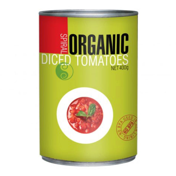 Spiral Foods Organic Diced Tomatoes