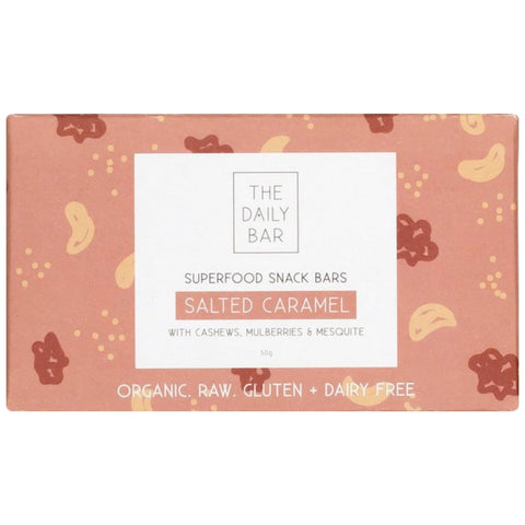 The Daily Bar -Salted Caramel - Best Before 14th August 2019