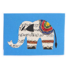 Thimble Hand Painted Elephant Cards -6 pack