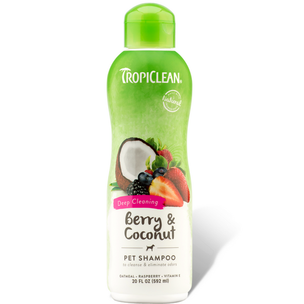 Tropiclean Pet Shampoo -Berry & Coconut