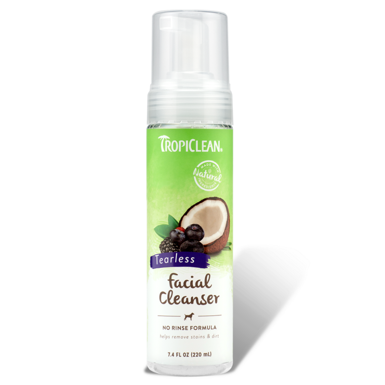 Tropiclean Waterless Pet Facial Cleanser